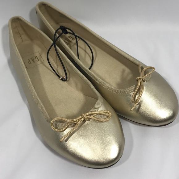06199fe84 GAP Shoes | New Nwot Gold Ballerina Flats | Poshmark